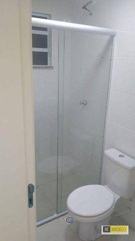 Apartamento com 2 dormitórios para alugar por R$ 750,00/mês - Agua Limpa - Volta Redonda/R - Foto 8