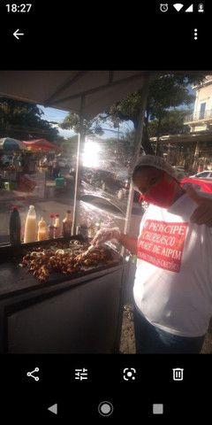 Carro de churrasco na chapa 1.300 - Foto 3