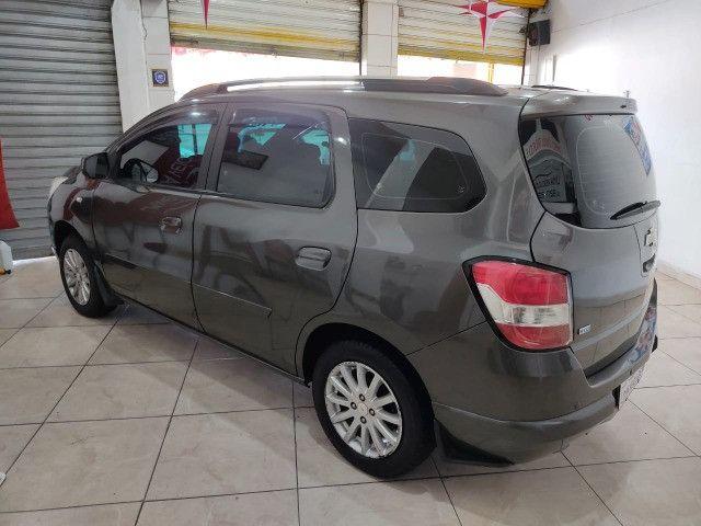 Chevrolet Spin LT 1.8 Automática + GNV 5G Novíssima - Foto 6