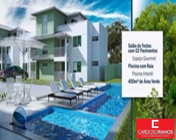 Apartamento à venda com 2 dormitórios em Buraquinho, Lauro de freitas cod:AP07819 - Foto 3