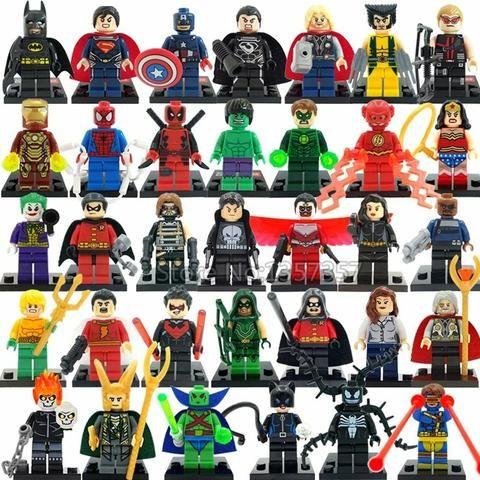 Lego heróis,jurássico e starwars - Foto 2