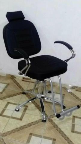 Cadeira De Cabeleireiro (Luxo)