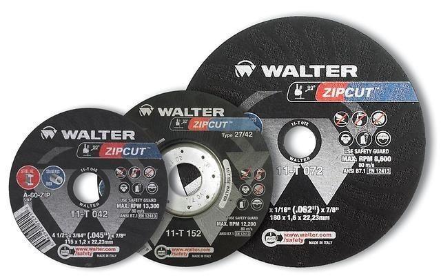 Disco De Corte 4.1/2 - Zipcut -11t042 Ng Walter(emb.c/25pçs)