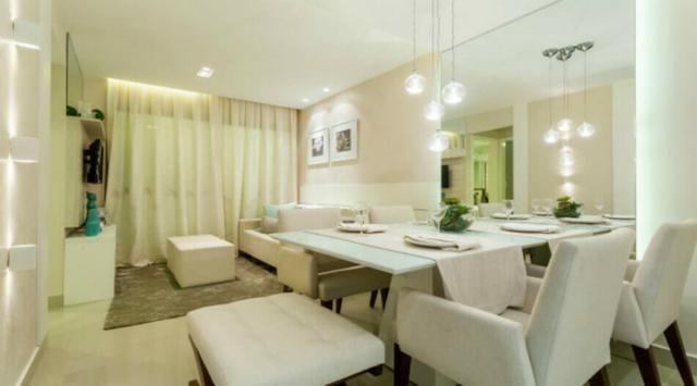Apartamento em Ponta Negra, 2 quartos sendo 1 suítes, Edifício Aurea Guedes