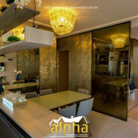 Apartamento Alto Padrão - Cambeba Hà 500 metros da Washington Soares - Entrada Facilitada - Foto 5