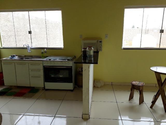 Casa nova, espaçosa com area de churrasqueira, 2quartos, 2 banheiros, lote de 400metros - Foto 13