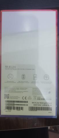 MI 8 LITE 128GB Novo Lacrado + Mi Band 4 Novo Lacrado ( entrega grátis ) - Foto 2