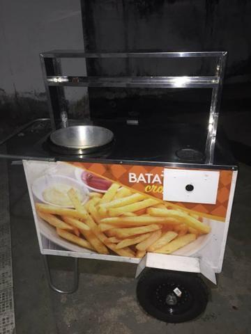 Vende-se Carrinho de lanches para batata frita - Foto 2
