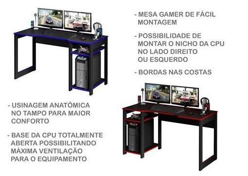 Mesa Gamer (Entrega Grátis) - Foto 6