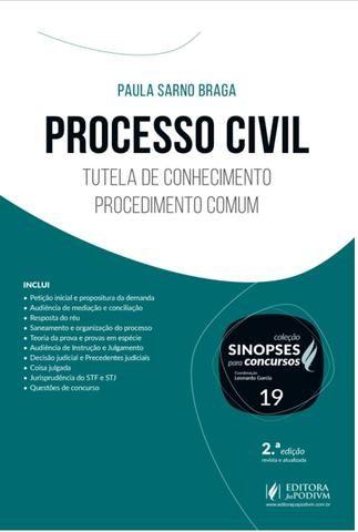 Livro Processo Civil - Foto 2