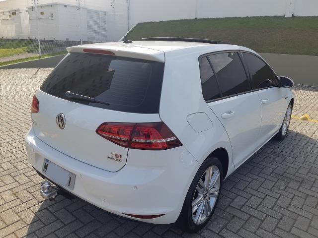 VW Golf Highline 1.4 TSI - com Teto Solar - pacote premium - Aceito Troca - Foto 7