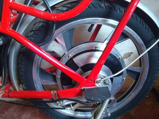 Bicicleta elétrica modelo raro - Foto 3
