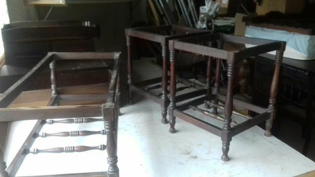 Vendo mesinhas antigas - Foto 3