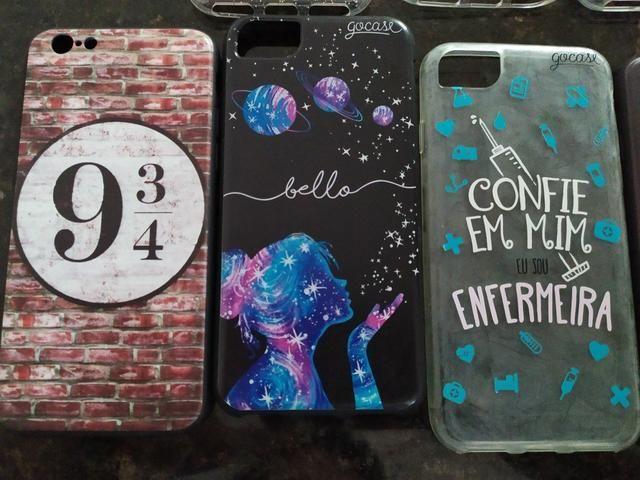 Capinhas Iphone 6/6S CINCO CADA - Foto 5