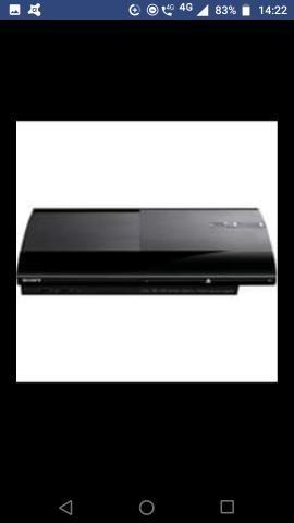 Playstation 3 500g slim só o console por 550 ou com 4 jogos originais por 650 - Foto 5