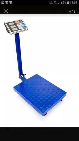 Promoção balanças plataforma para ate 300kg