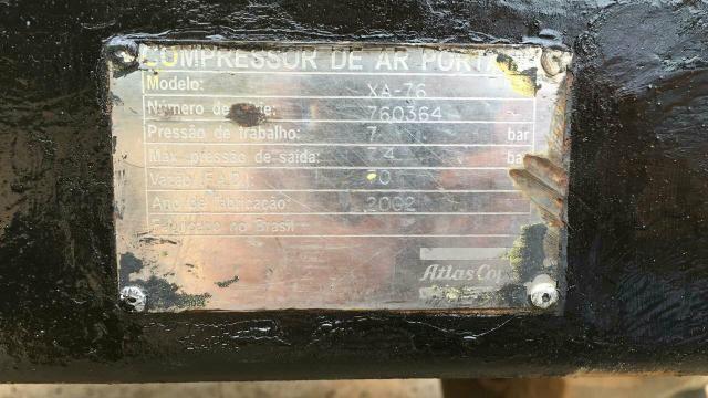 Compressor de ar modelo xas 76 - Foto 3