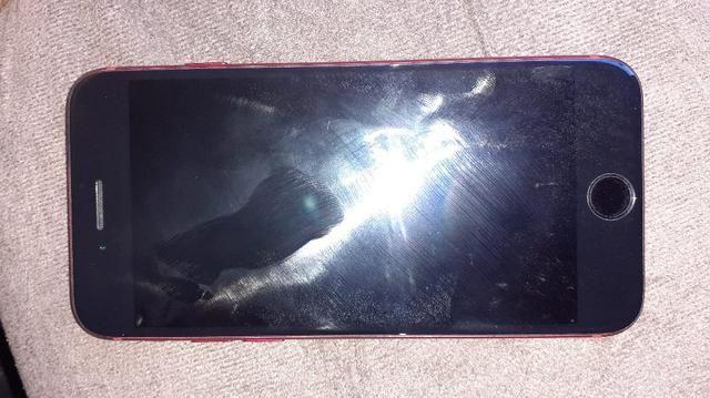 Vendo ou troco iPhone 7red 128gb - Foto 6