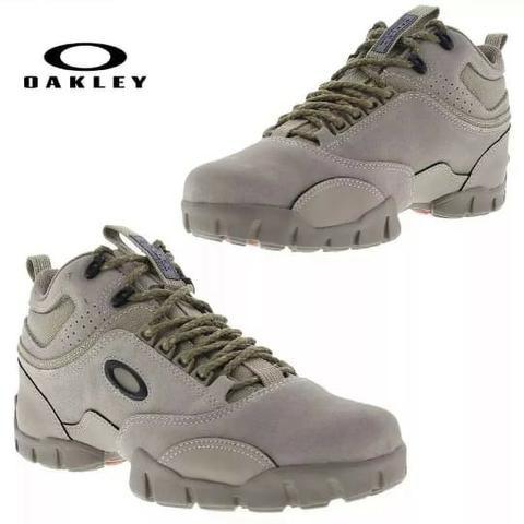 Tenis Masculino Bota Oakley Confortável Promoção homem Botinha couro 32788aa736