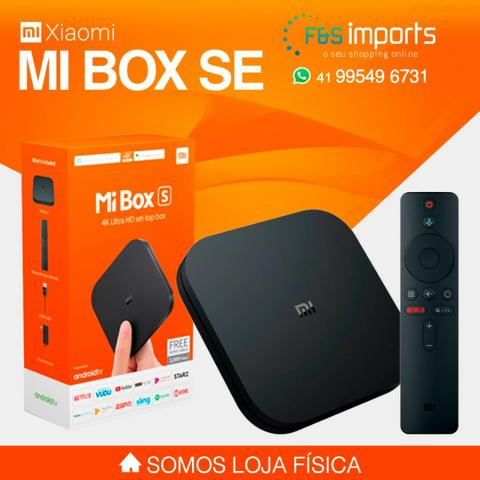 Tv Box Xiaomi Mi Box S Ultra Hd 4k Hdmi/usb/wi-fi - Bivolt