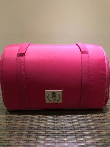 8663f1e0e Bolsa de Transporte Bichinho Chic Luxo Rosa - Tamanho M - Gatos ...