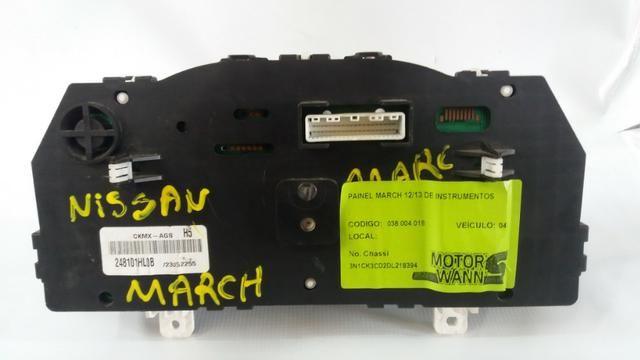 Painel Instrumento Nissan March 2012/2013 Com Garantia E Nf - Foto 2