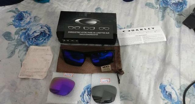 b28bda7ab Óculos Oakley sliver com duas lentes original - Bijouterias ...