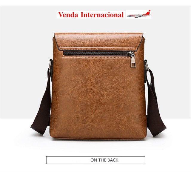 Bolsa e carteira confeccionada em couro PU com a marca JEEP - Foto 5
