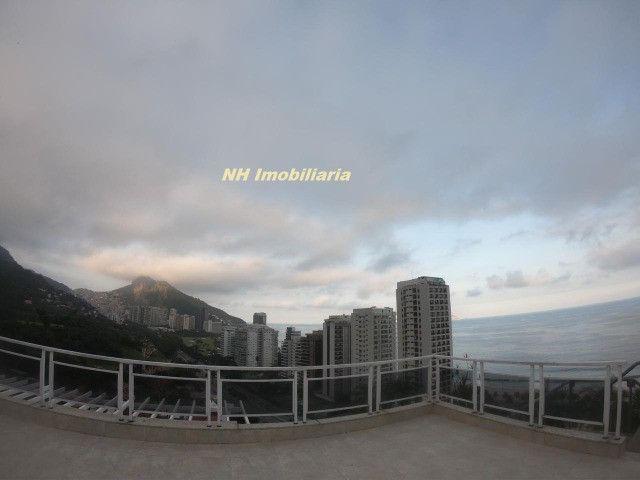 Linda cobr. são Conrado, terraço enorme - Foto 12