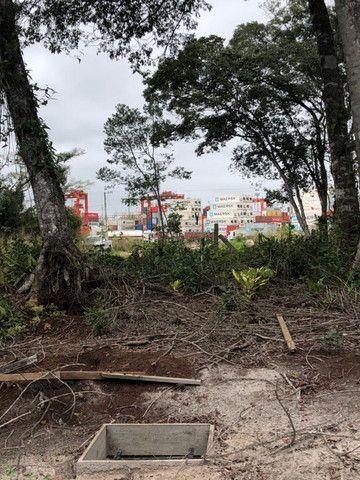 Ótimo terreno Pronto para Construira 400mts do Marao lado do Porto - Itapoá - Foto 6