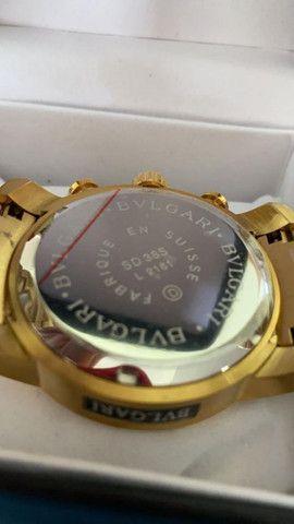 Relógio BVLGARI Serpente a prova d'água - Foto 3