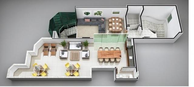 Apartamento à venda com 3 dormitórios em Imbaúbas, Ipatinga cod:955 - Foto 3