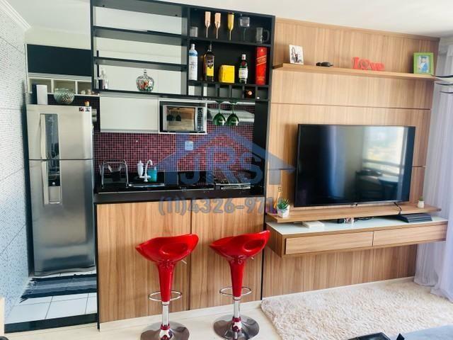 Apartamento com 2 dormitórios à venda, 50 m² por R$ 280.000 - Vila Mercês - Carapicuíba/SP