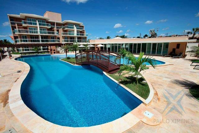 Apartamento com 3 dormitórios à venda, 113 m² por R$ 500.000,00 - Porto das Dunas - Aquira