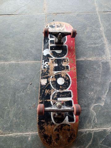 Skate montado peças top - Foto 3