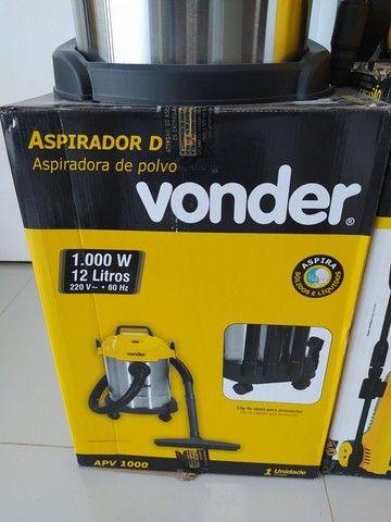 Aspirador de pó Vonder 1.000w uso profissional - Foto 2