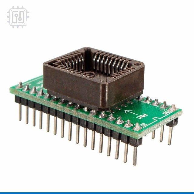 Adaptador PLCC32 - DIP32 - Foto 5