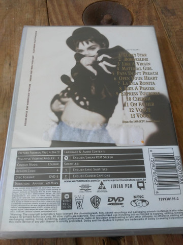 Dvd Madonna The Immaculate Collection reembaldo - Foto 2
