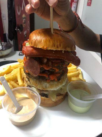 Hambúrgueria e Restaurante