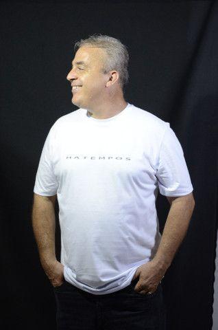 Camiseta Hatempos Original Escrita - Foto 3