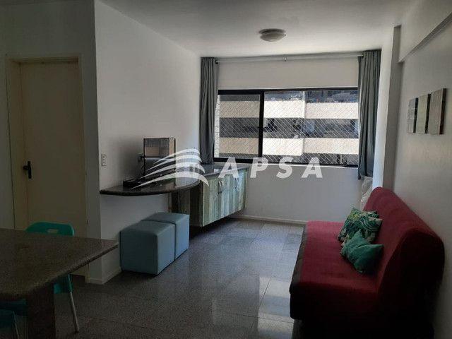 Apartamento para alugar com 1 dormitórios em Ponta verde, Maceio cod:32300 - Foto 5