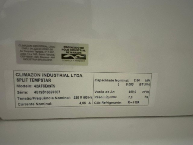 Ar-condicionado Split Tempstar - Foto 3