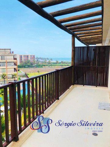 Apartamento no Porto das Dunas vista mar com 3 quartos pé na areia Beach living  - Foto 13
