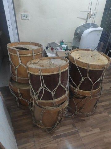 Vendo lote de Alfaia / tambor de maracatu