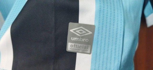 Camisa Grêmio 2021/22 Manga Longa Tricolor - Foto 3