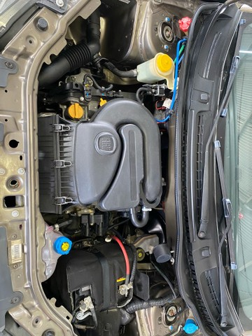 Fiat uno 1.0 way completo placa i  * 70.000 km impecável  - Foto 12