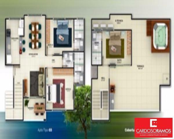 Apartamento à venda com 2 dormitórios em Buraquinho, Lauro de freitas cod:AP07819 - Foto 5