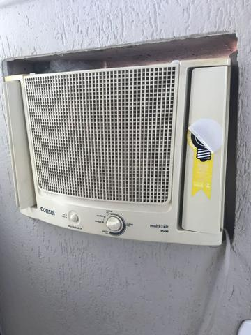 Ar condicionado 7.500 cônsul de janela