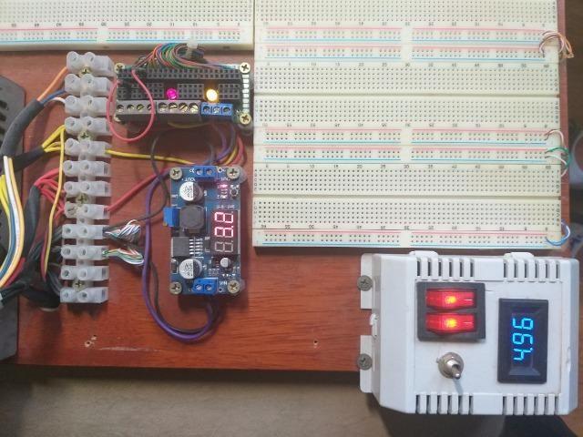 Kit completo com 12 Protoboards (PCB Bread Board) + Fonte + Regulador - 12v - 5v - 3,2v - Foto 3