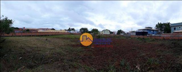 Terreno à venda, 4200 m² por r$ 1.350.000,00 - verdes mares - rio das ostras/rj